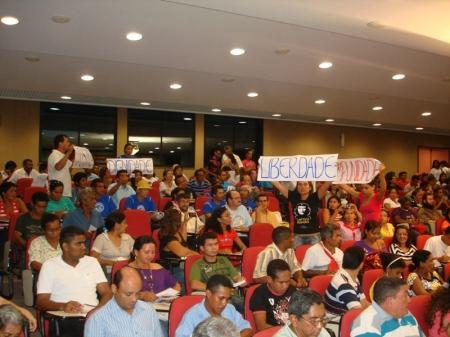 Auditório da OAB/MA ficou pequeno para as mais de 500 pessoas que participaram do lançamento