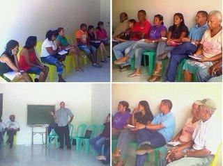 Diversas lideranças discutiram a organização do movimento em São Mateus