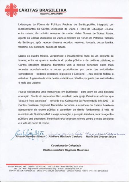 A segunda página do documento